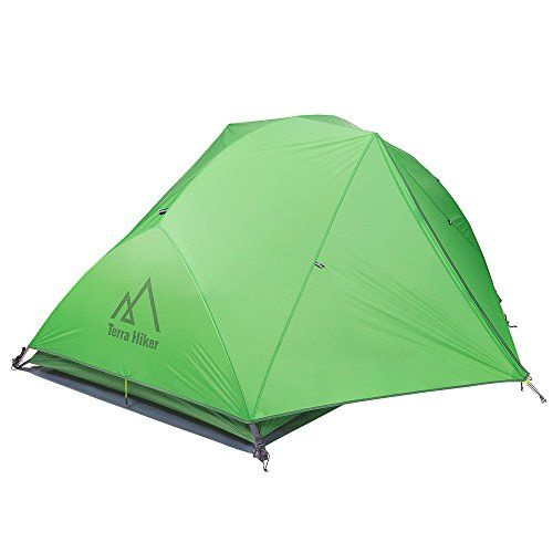 Best C&ing Tents Ultralight C&ing Tent Terra Hiker Tent with Rain Fly Tent Tarp for 4 Seasons Outdoor Activities Waterproof Windproof Weighs only 473 ...  sc 1 st  Pinterest & Best Camping Tents | Ultralight Camping Tent Terra Hiker 2Person ...
