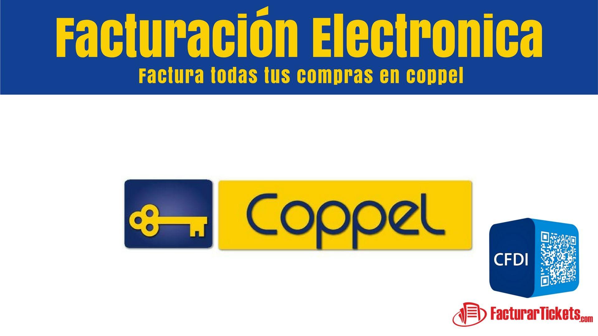 Facturacion Electronica Coppel En 2019 Factura