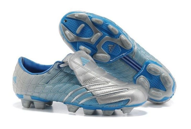 5aeb6d047a8ad Adidas F50 TRX FG Spider Mens Firm Ground Soccer Shoes(Silver and Blue)