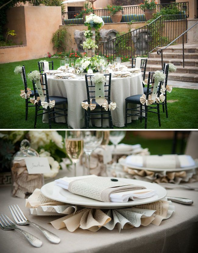 Book Themed Wedding Ideas For The Bookie English Major Or Nerd