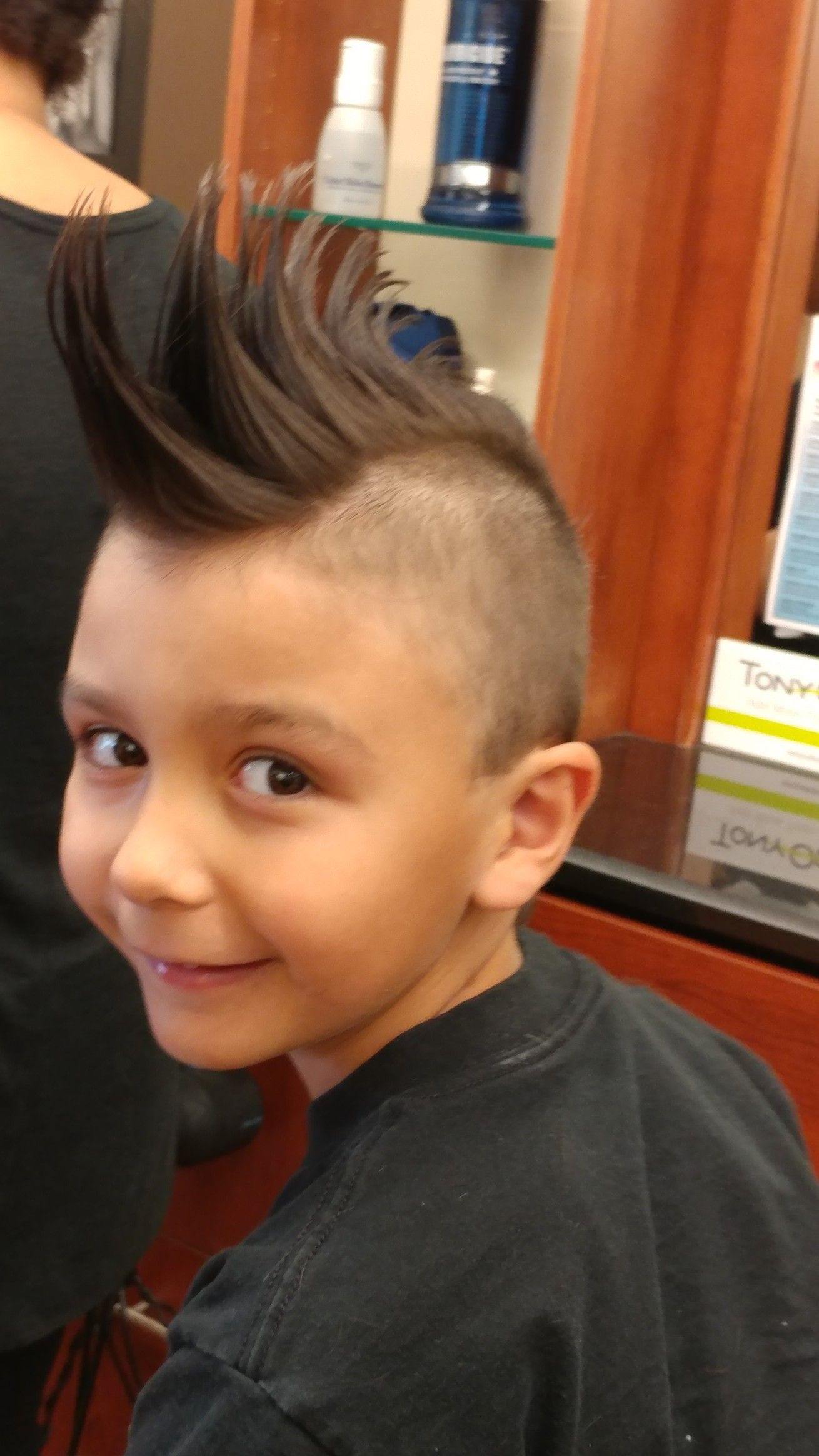 Mohawk Spikes Cool Kid Haircut 7 Years Old Me And Mine Cool Kids