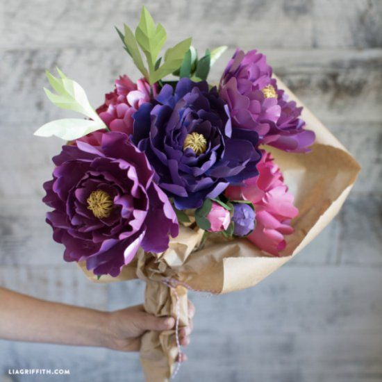 Learn how to make paper peonies in this simple video tutorial from learn how to make paper peonies in this simple video tutorial from paper flower designer lia mightylinksfo Gallery