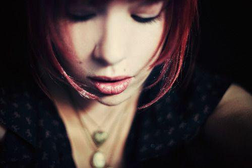glitter #hair | #photography by Aitlin Worthington | #hairstyle #lip