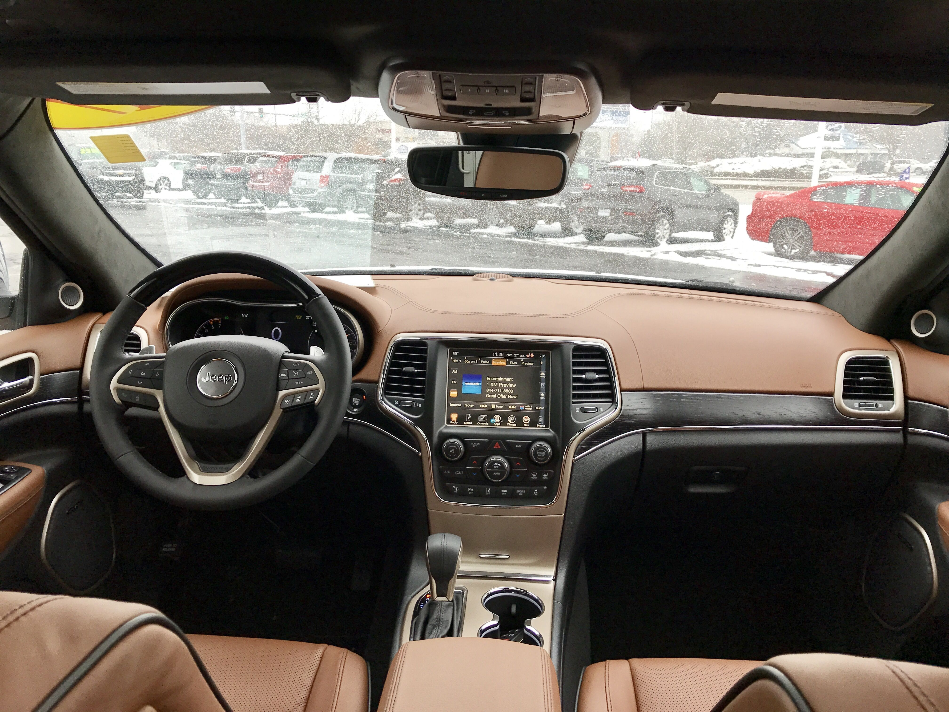 Jeep Grand Cherokee Summit Interior Jeep Grand Cherokee Srt