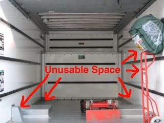 14 Foot U-Haul | Inside of a U-Haul truck | Da Cute Mobile ...