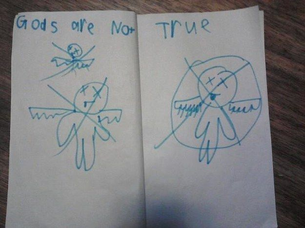 This kid who won't get invited back to bible study. | 24 Kids Who Are In Dire Need Of An Exorcism