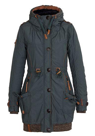 NAKETANO Becky Pupst III Jacke für Damen Grün | random