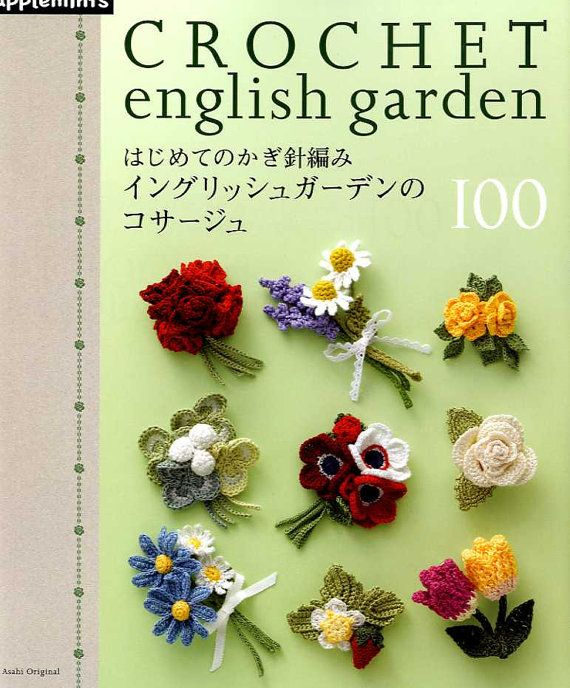 HÄKELN englischer Garten CORSAGE 100  Japanische von pomadour24, ¥2170
