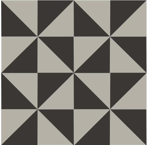Carreau Personnalisable Custom Molino En 20x20 Et Gres Cerame Carrelage Effet Graphique Aux Triangle Imitation Carreaux De Ciment Deco Moderne Carrelage Mural