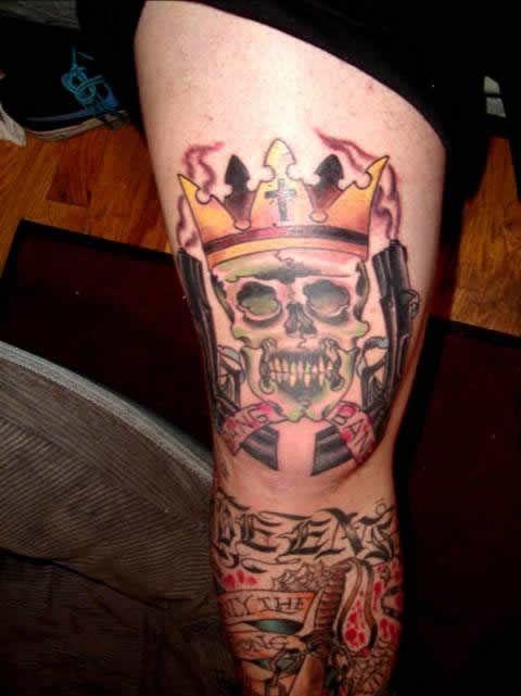 Latin Kings Tattoo Gang Related Latin Kings Tattoos King