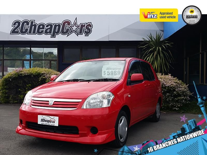 Toyota Raum 2006 for Sale Red 2 Cheap Cars — NZ cars