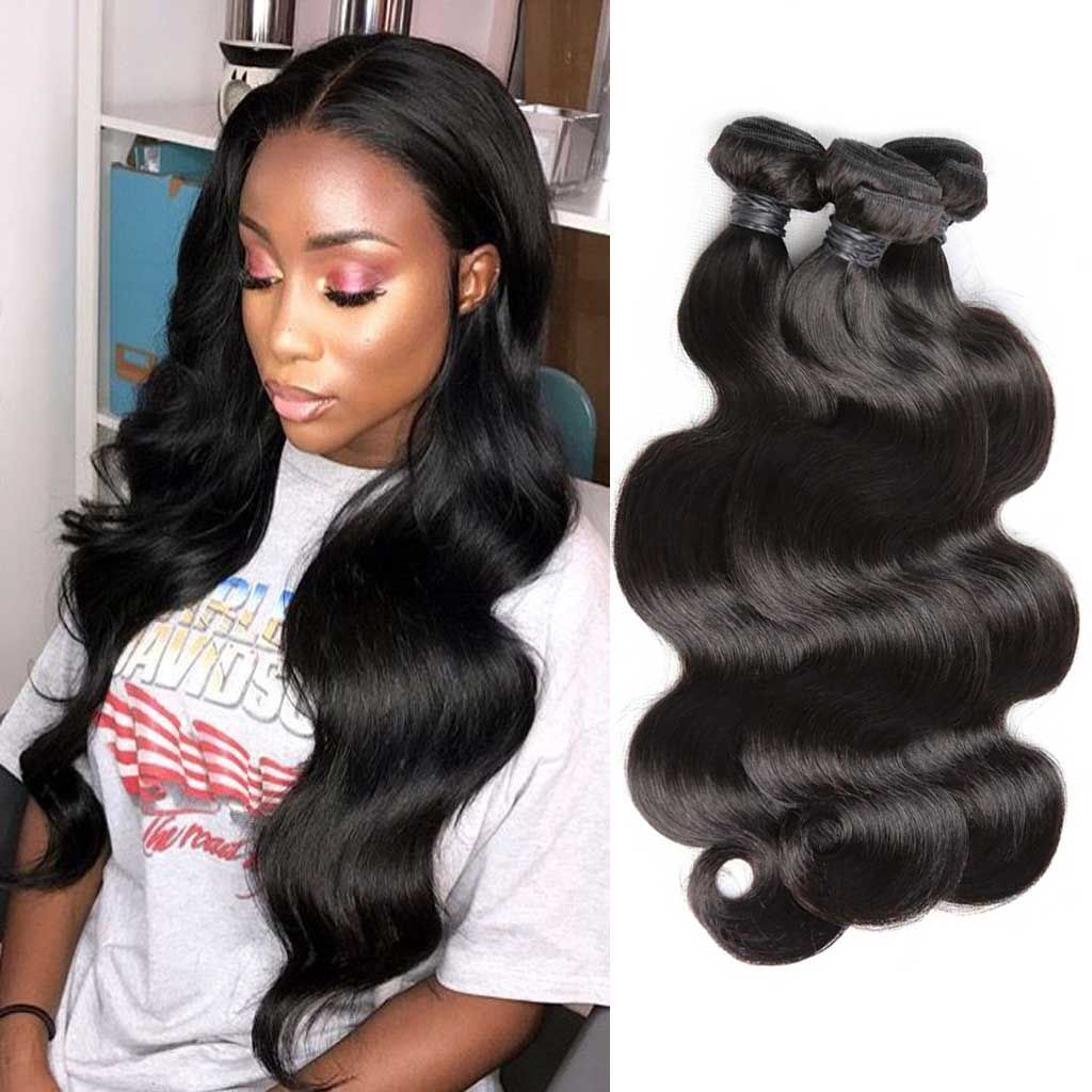 459d176f9 Bombtress offers top quality Brazilian body wave virgin hair. It's best  selected human hair without
