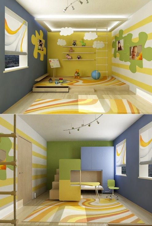 Looks like a nice room for kids to play in...but kids do grow up ...
