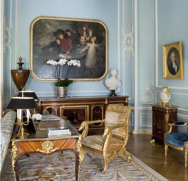Traditional Interior Designers In Chicago: Albert Pinto- Apt. In NY