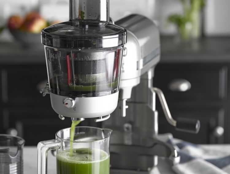 Kitchenaid stand mixer slow juicer attachment kitchen