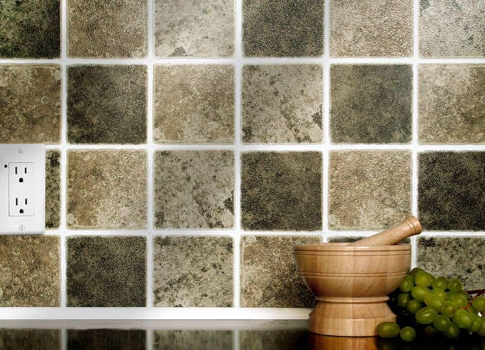 Rustic Mix 4 Quot X 4 Quot Tiles 10cm X 10cm Self Adhesive Wall Tiles