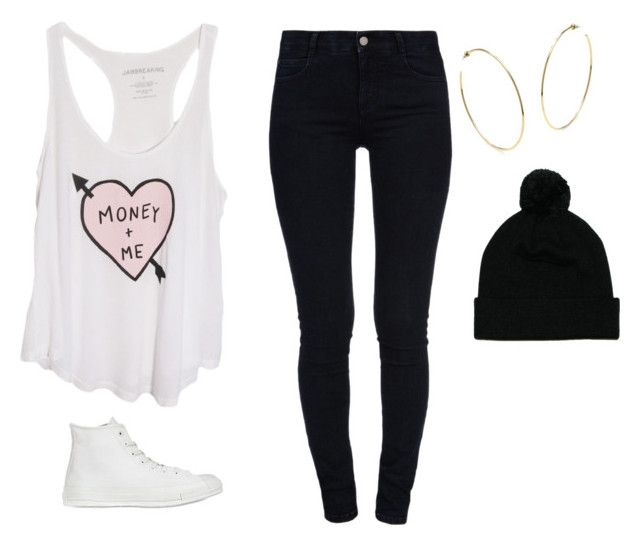 """""""Love, Money,Party"""" by hattiebrooks ❤ liked on Polyvore featuring moda, STELLA McCARTNEY, Converse i Mr Simple"""