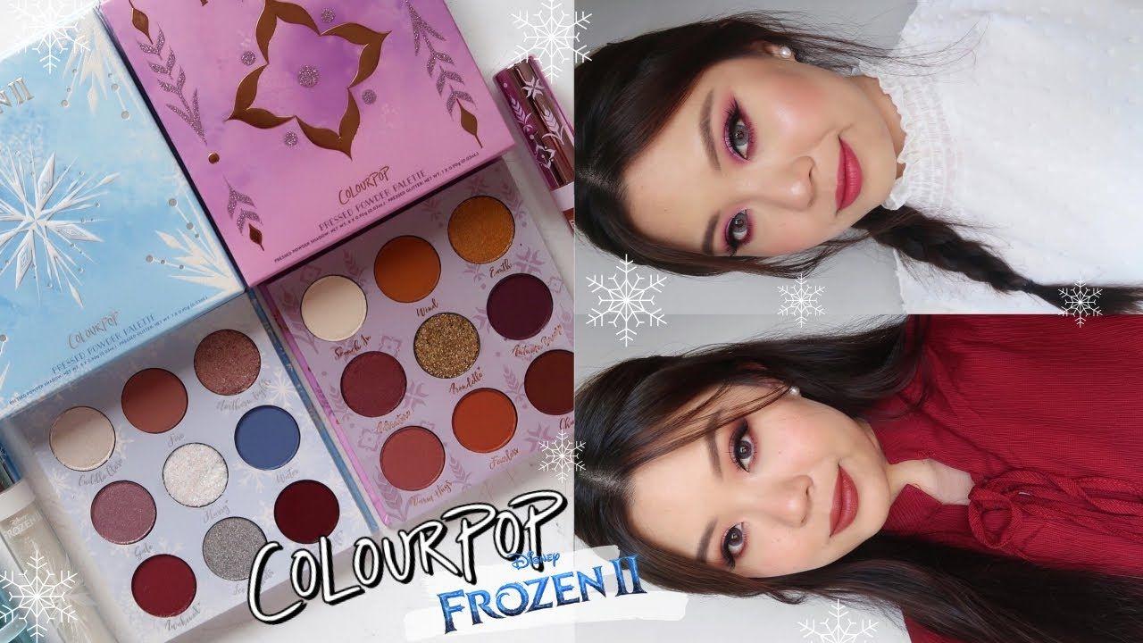 Colourpop x Frozen II Elsa Eyeshadow Palette by Colourpop #14
