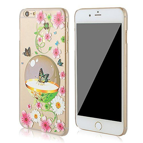 3Cworld iPhone 6 Plus Case Clear Matte Back Cover Hardshell with Design [5.5'' Hard Plastic] - Retail Packaging - 17 Patterns (butterfly-pink) 3Cworld http://www.amazon.com/dp/B00VUHL0EC/ref=cm_sw_r_pi_dp_pxcyvb1ZS74FY