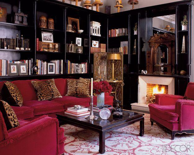 Paris Match Black Rooms Home Interior Design
