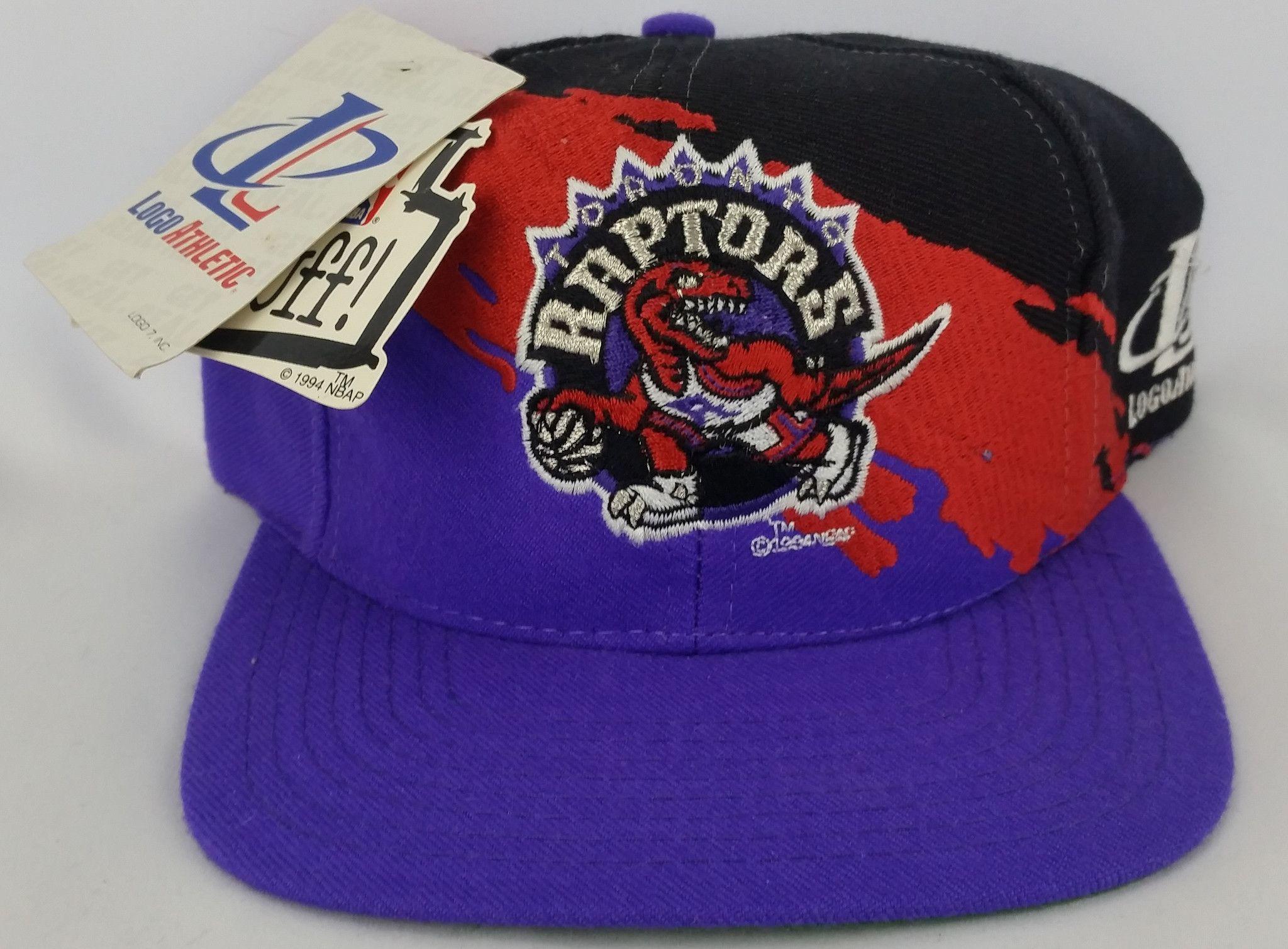 Toronto Raptors Vintage Snapback Logo Athletic Splash Hat NBA Cap Rare NWT 72efcad4d