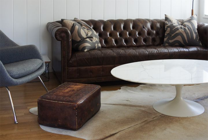 Brilliant Knoll Saarinen Oval Marble Coffee Table With Chesterfield Alphanode Cool Chair Designs And Ideas Alphanodeonline