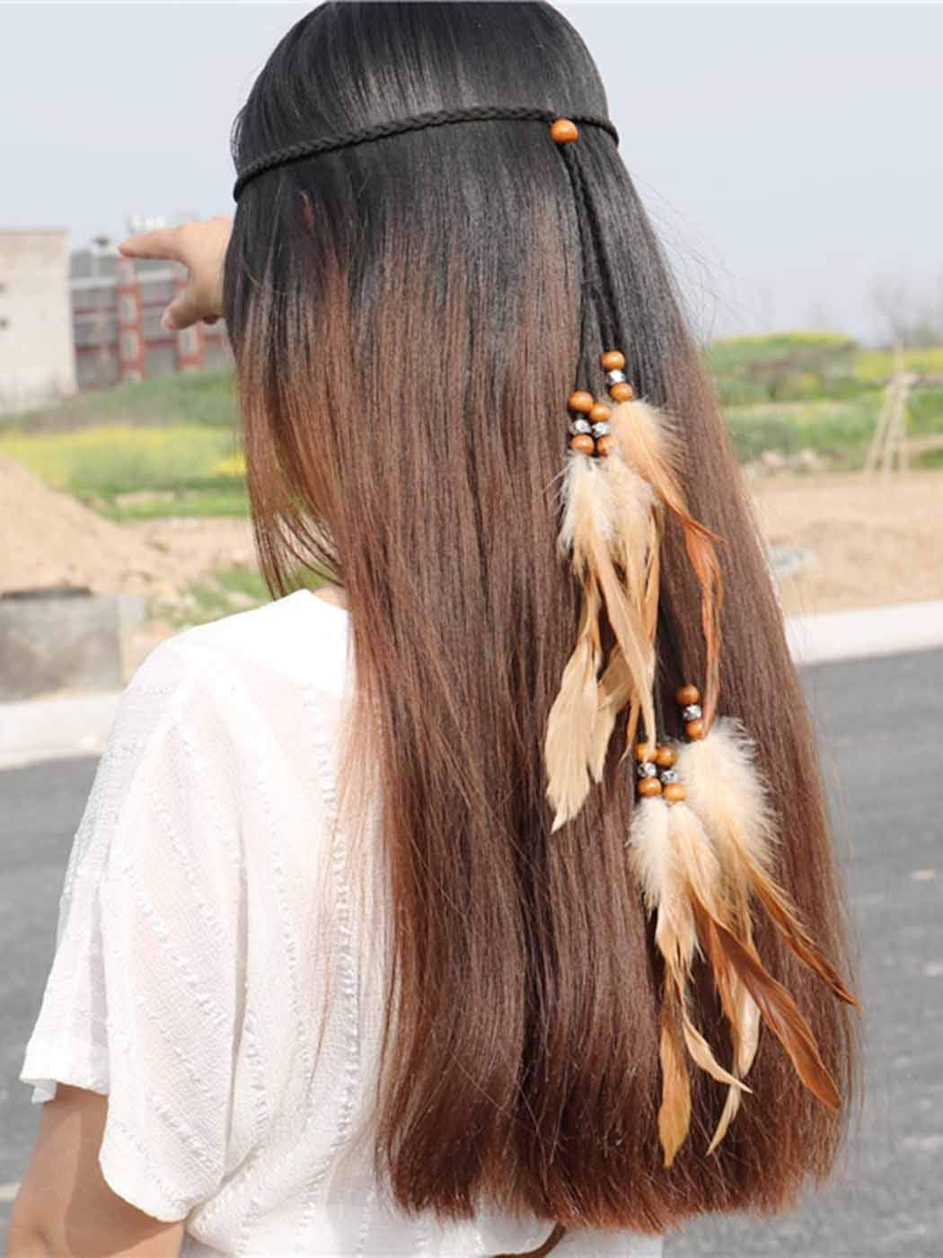 12 Brightest Hippie Headband Hairstyles Native American To Light