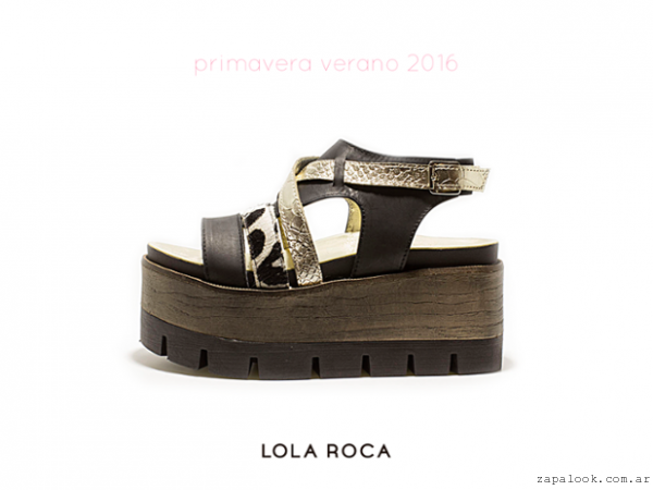 sandalias plataforma de madera verano 2016 - Lola Roca  01eb568be434