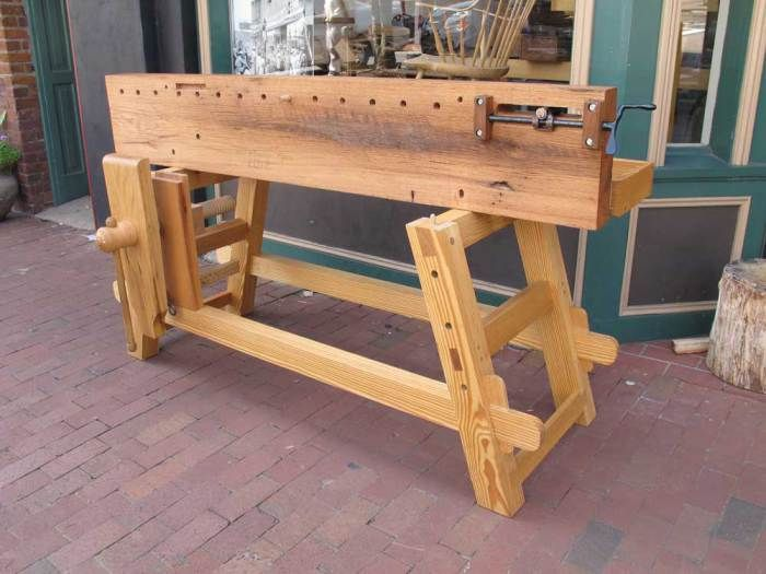 Portable Bench I Guess Because The Joints Knock Down And
