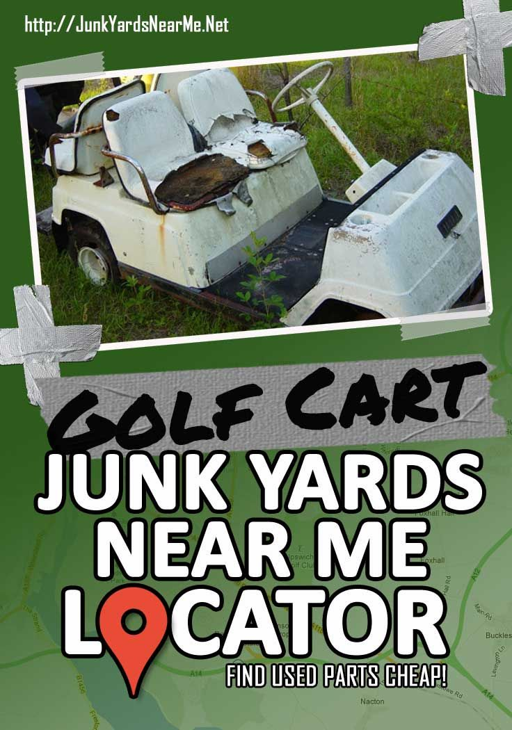 Finding used parts for your golf cart can be a head