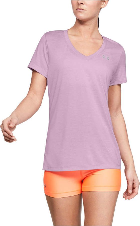 Under Armour Women's Tech Twist VNeck & Reviews - Women - Macy's #tenuesàlamode