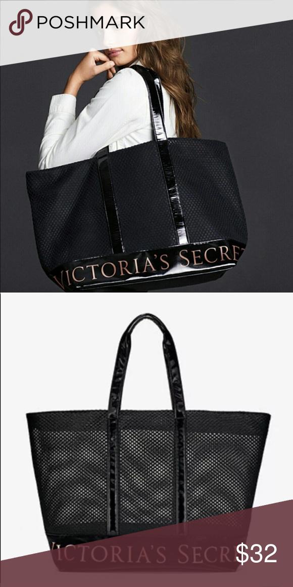 0152fbea7994 Victoria s Secret Weekend Bag Victoria s Secret Weekend Mesh Tote. Perfect  as a weekend bag or on the go. Sleek handles with a zipper closure.