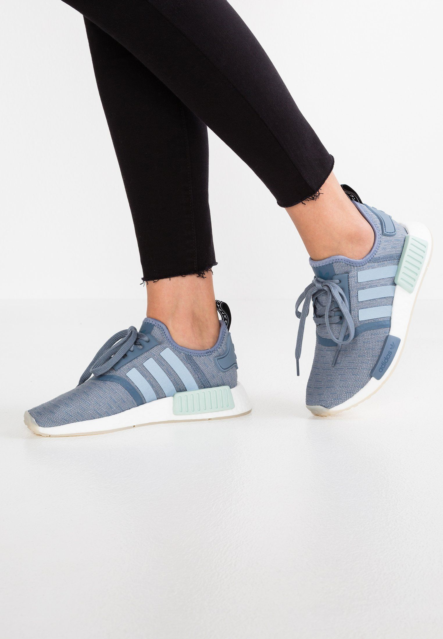 c5713719edf2 adidas Originals NMD R1 - Trainers - raw steel footwear white -  Zalando.co.uk