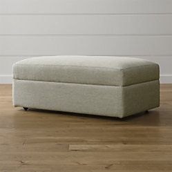 Outstanding Lounge Ii Storage Ottoman With Tray Living Room Lounge Bralicious Painted Fabric Chair Ideas Braliciousco