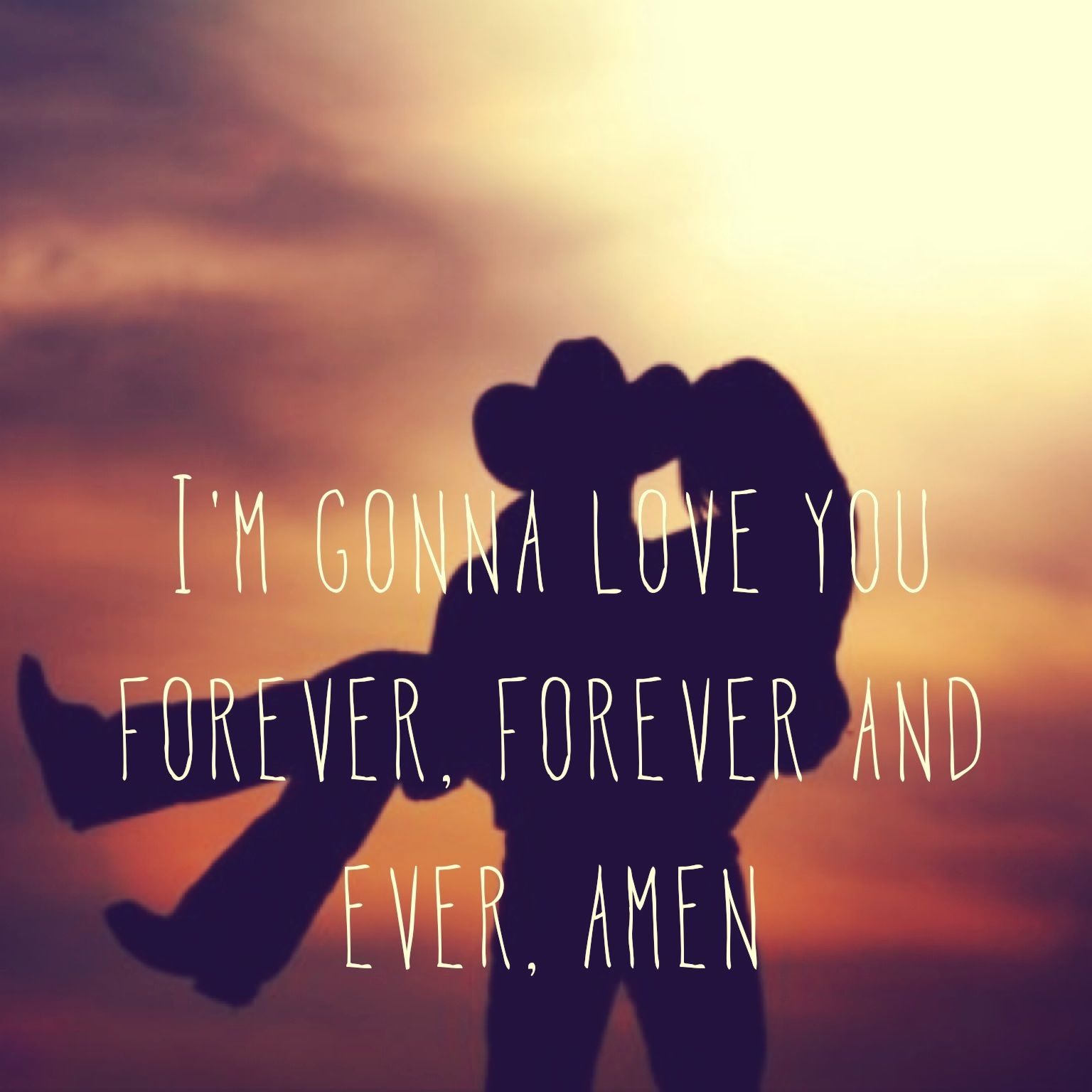 Forever and ever amen!