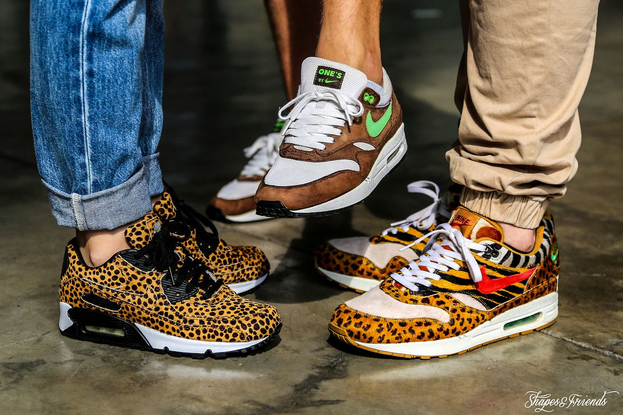 "the latest 48d00 a49ea Nike Air Max 90 iD Asia X Nike Air Max 1 Ones Sample X Nike Air Max 1  Supreme ""Animal Pack"""