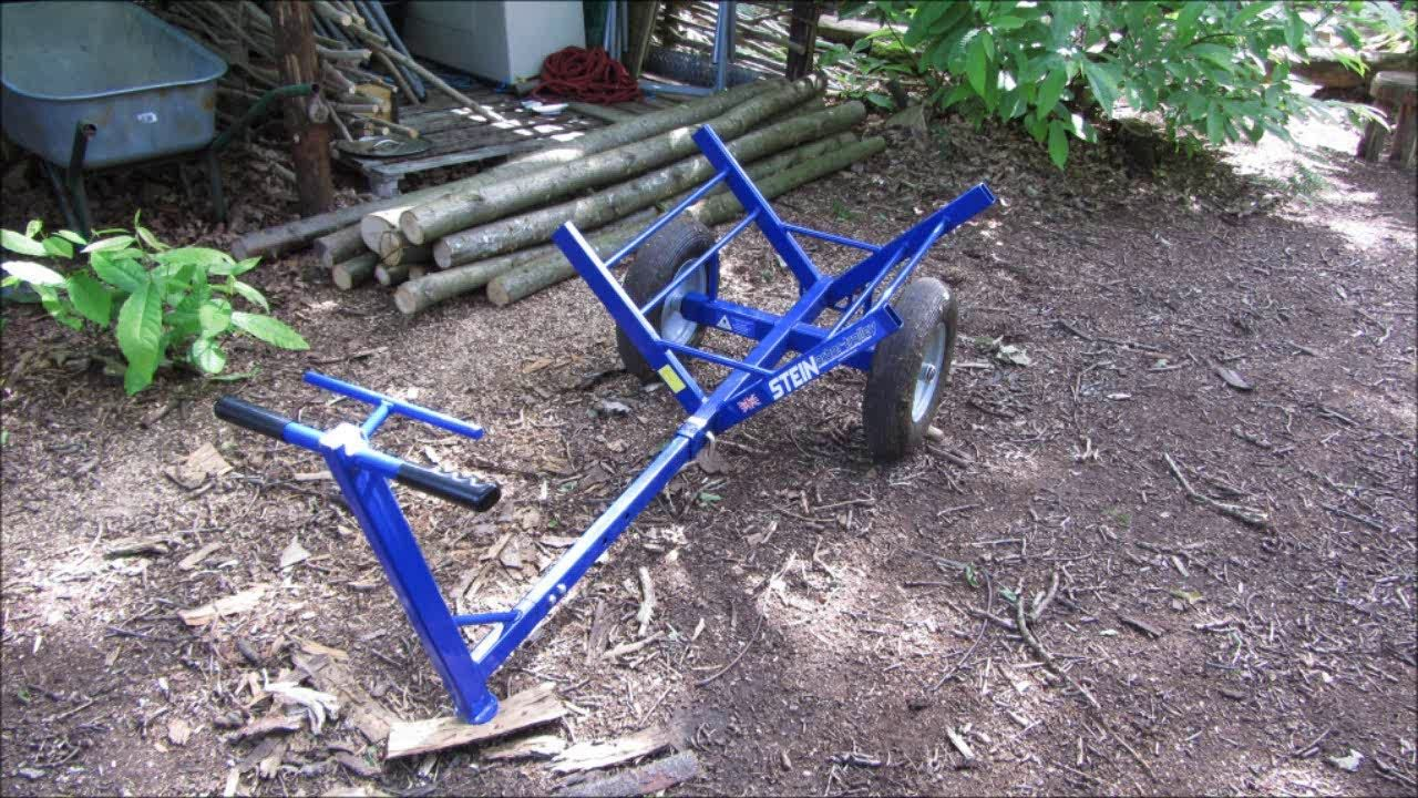 Stein ArborTrolley (log trolley) review Shelters in the