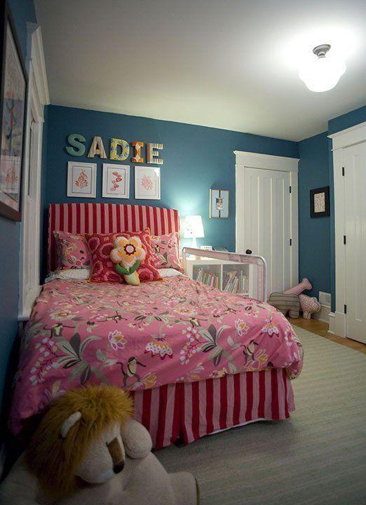 Sadie's Warm & Cozy Bedroom — Small Kids, Big Color Entry ...