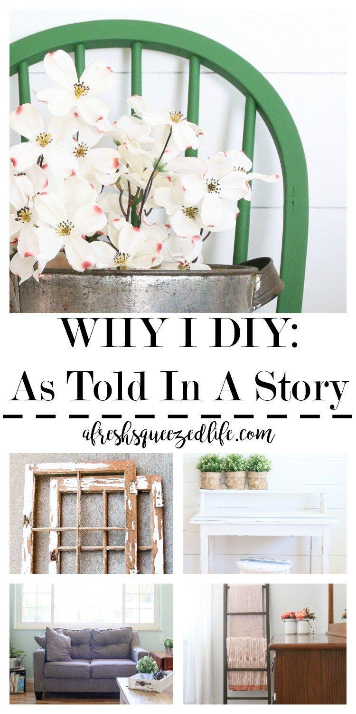 WHY I DIY | Crafts