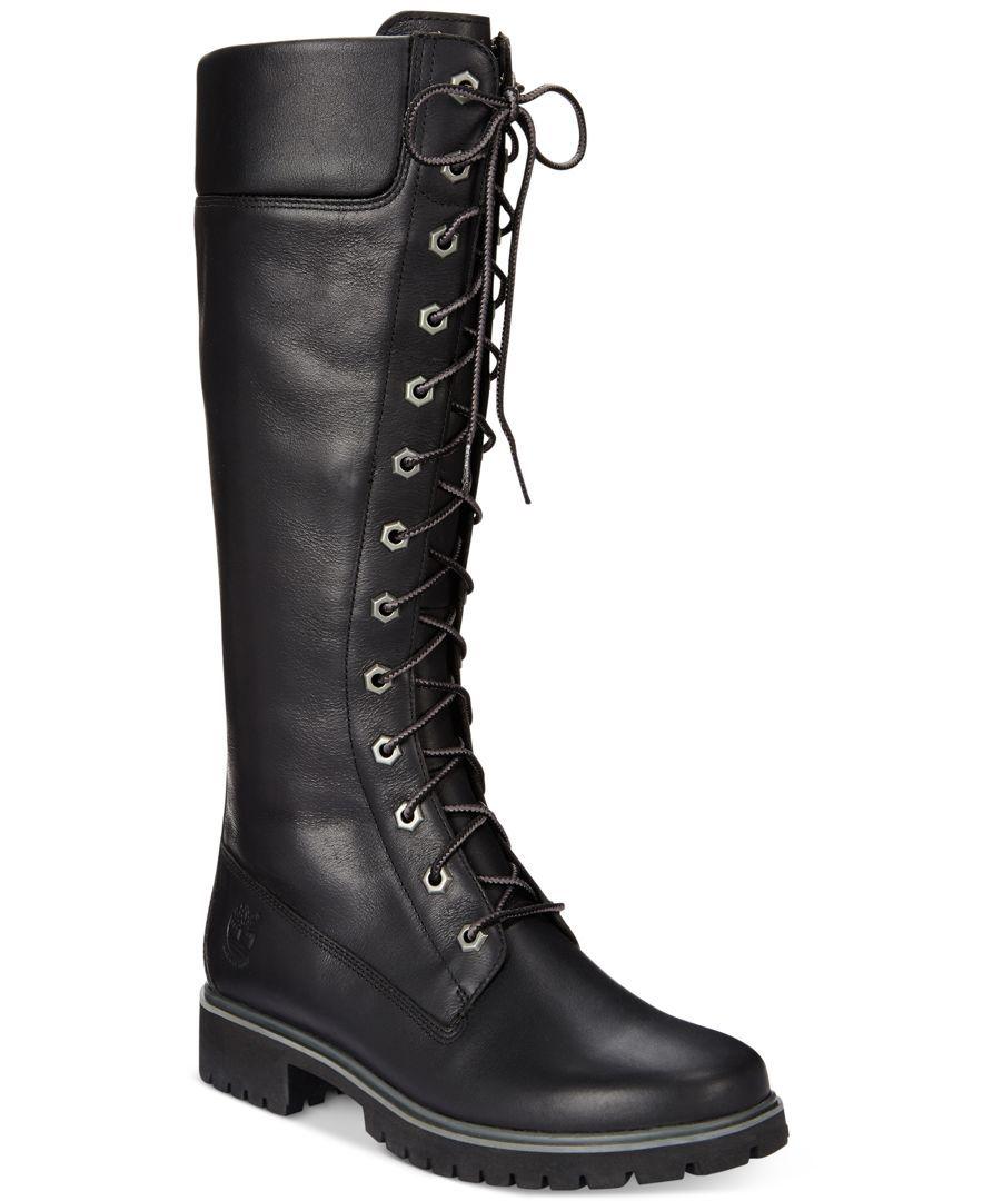 Premium Lace-Up Boots - Boots - Shoes