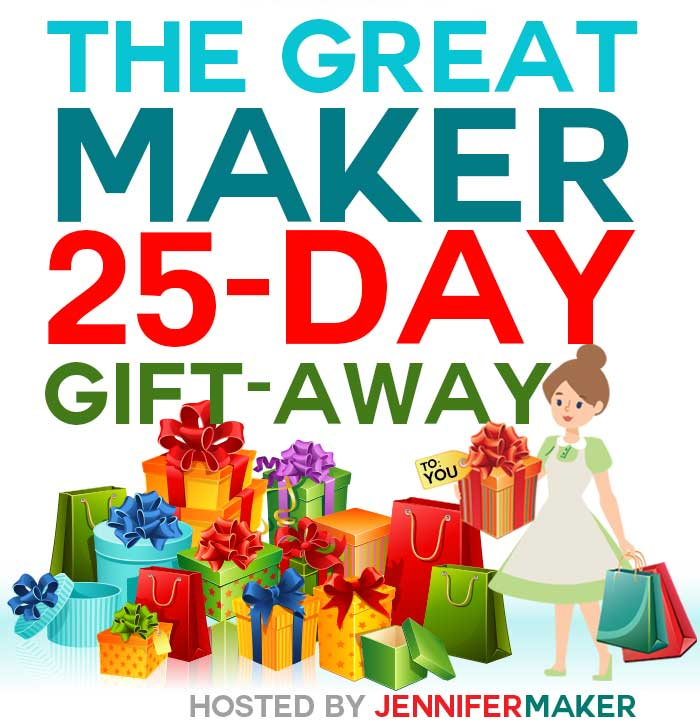 The Great Maker 25Day GiftAway Win Cricut Machines