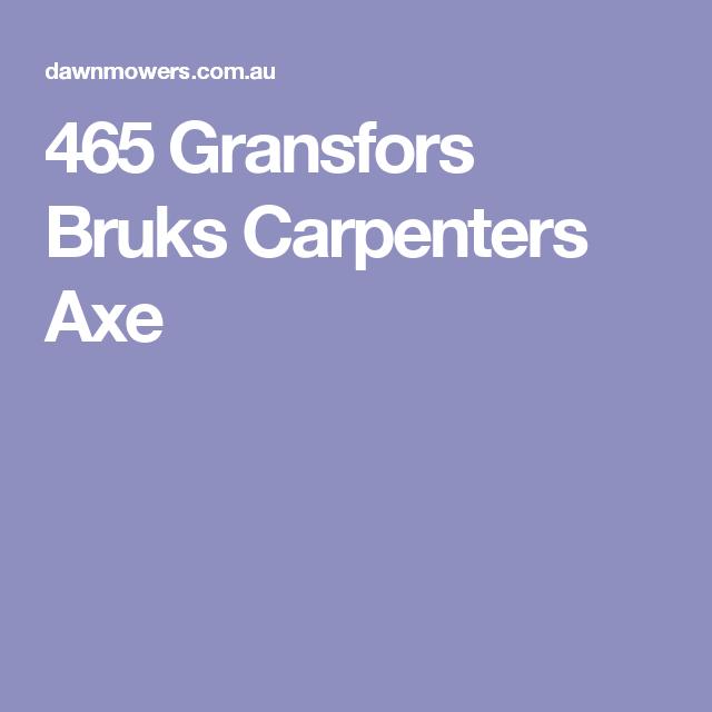 465 Gransfors Bruks Carpenters Axe