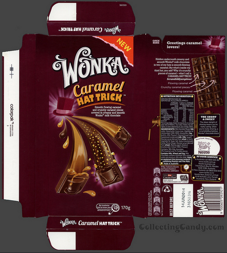 Wonka Caramel Hat Trick Uk Candy Boxes Barbie Food