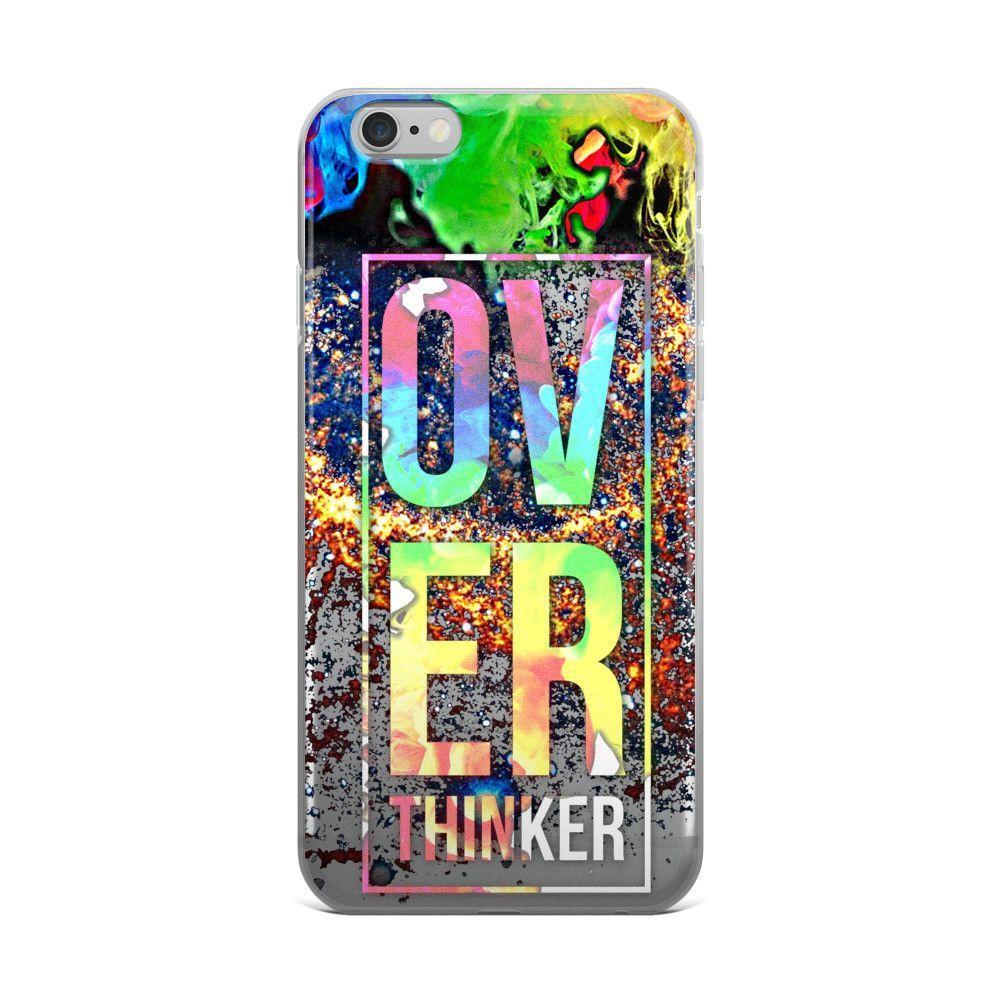 Overthinker iPhone Case
