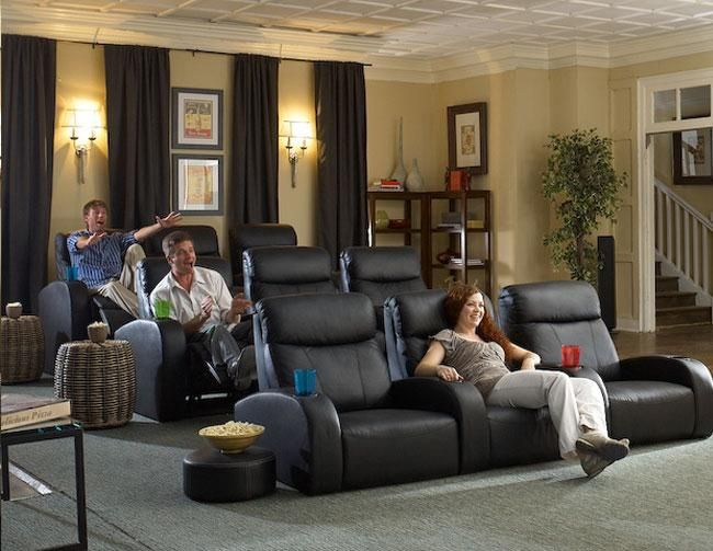 Pin by Marquel Williams on House  Theater seating Home