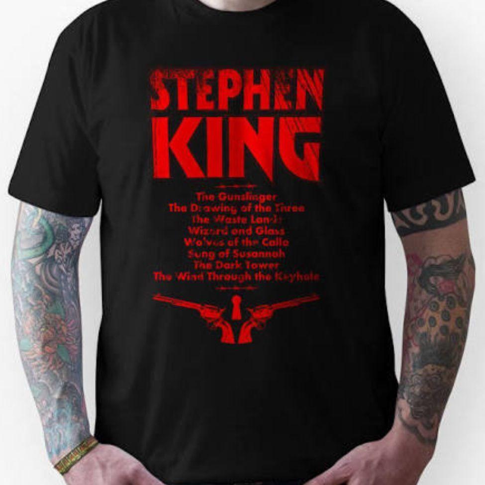 Dark Stephen Tower SeriesUnisex Shirt T The KingHorrorEtc pzVGSUqM
