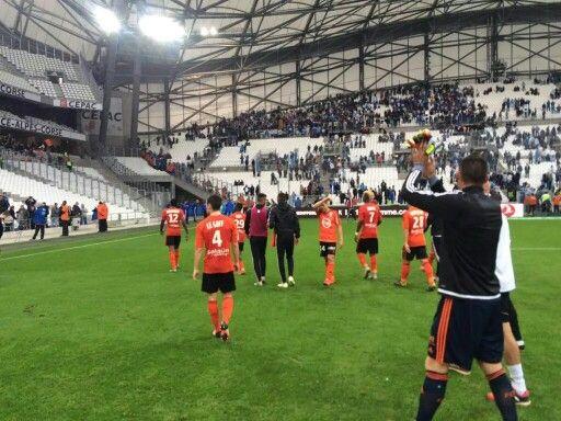 Marsella 1 - 1 Lorient de visita saca un buen resultado