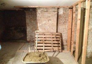 damp proofing and tanking of a basement london diy ideas cellar rh pinterest co uk