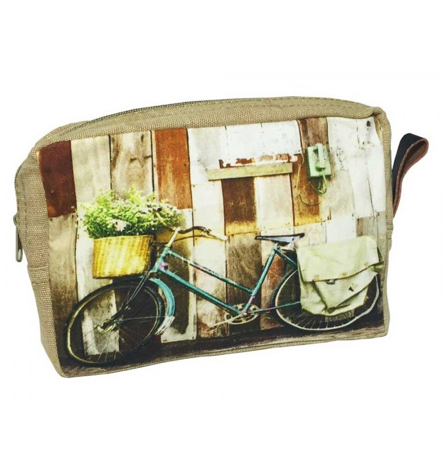 Neceser bicicleta Cesto flores