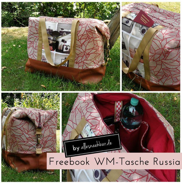 """Das Freebook WM-Tasche """"Russia"""" ist da!"""